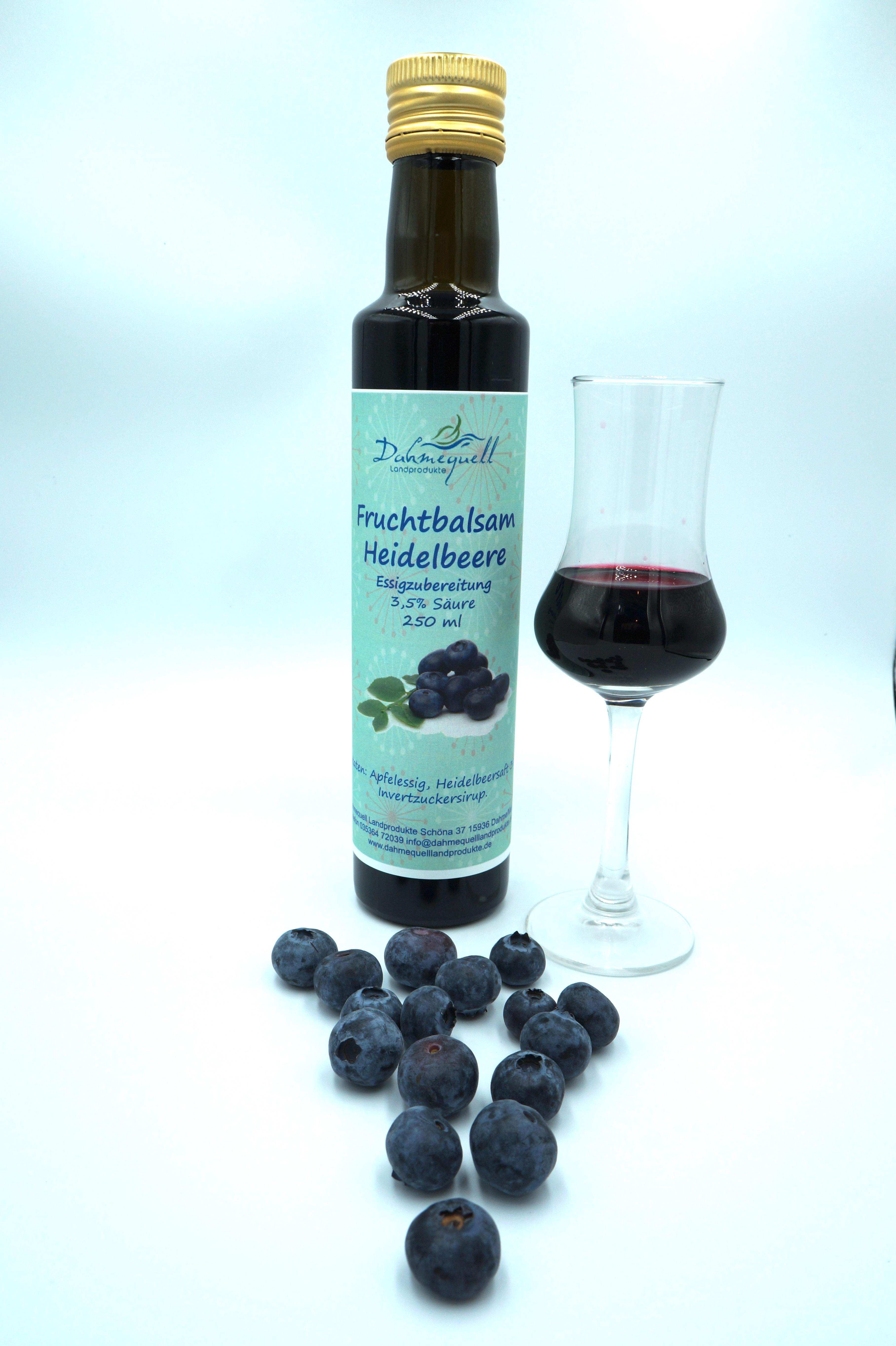 Fruchtbalsam Heidelbeere 250 ml