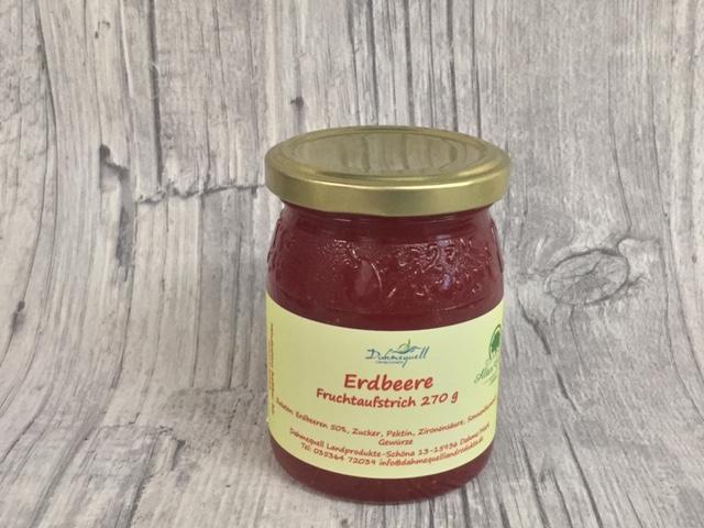 Erdbeer Fruchtaufstrich 270 g