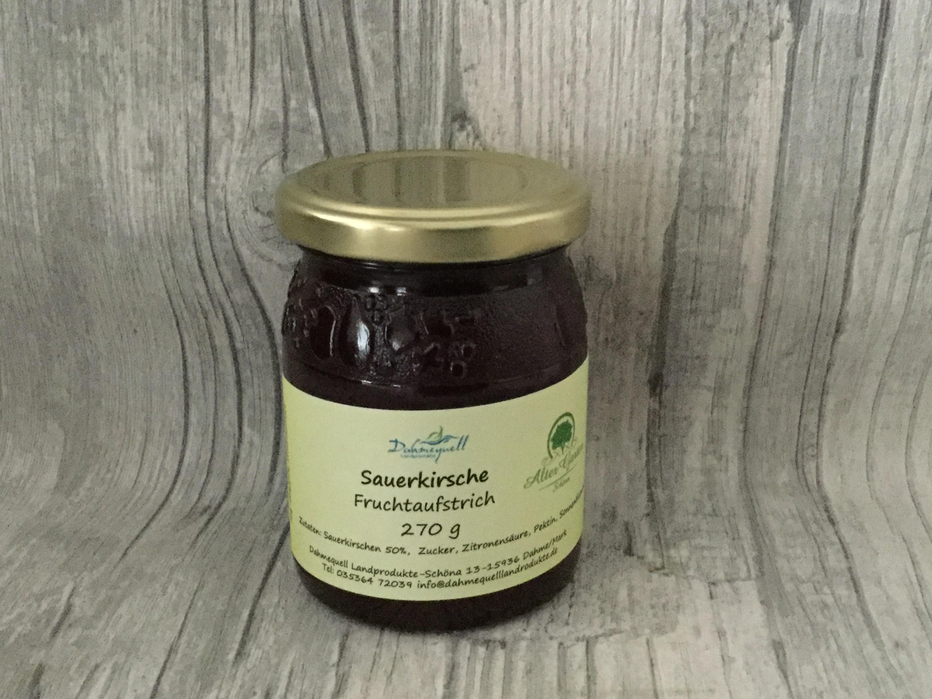 Fruchtaufstrich Sauerkirsche 270 g