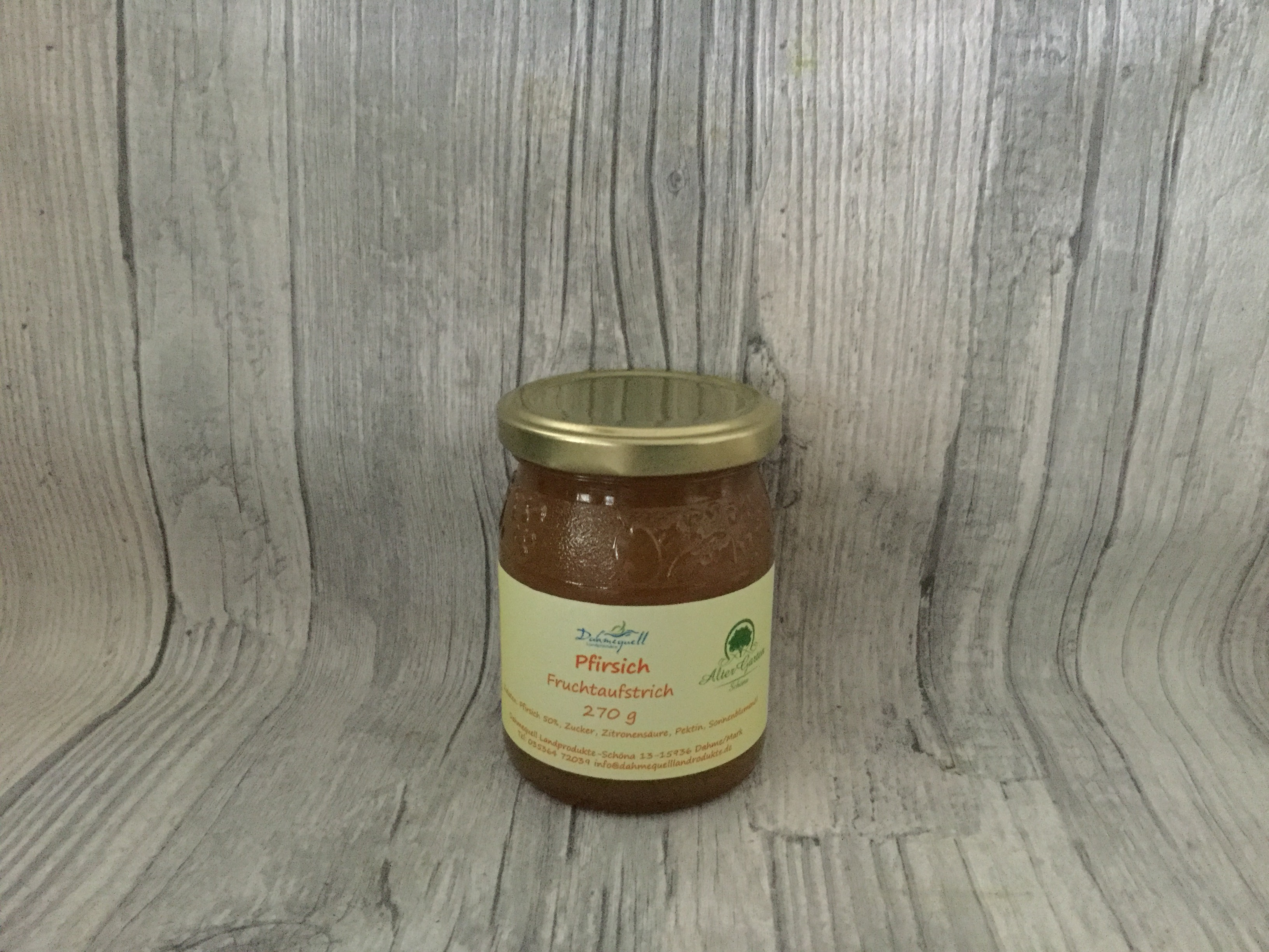 Fruchtaufstrich Pfirsich 270 g
