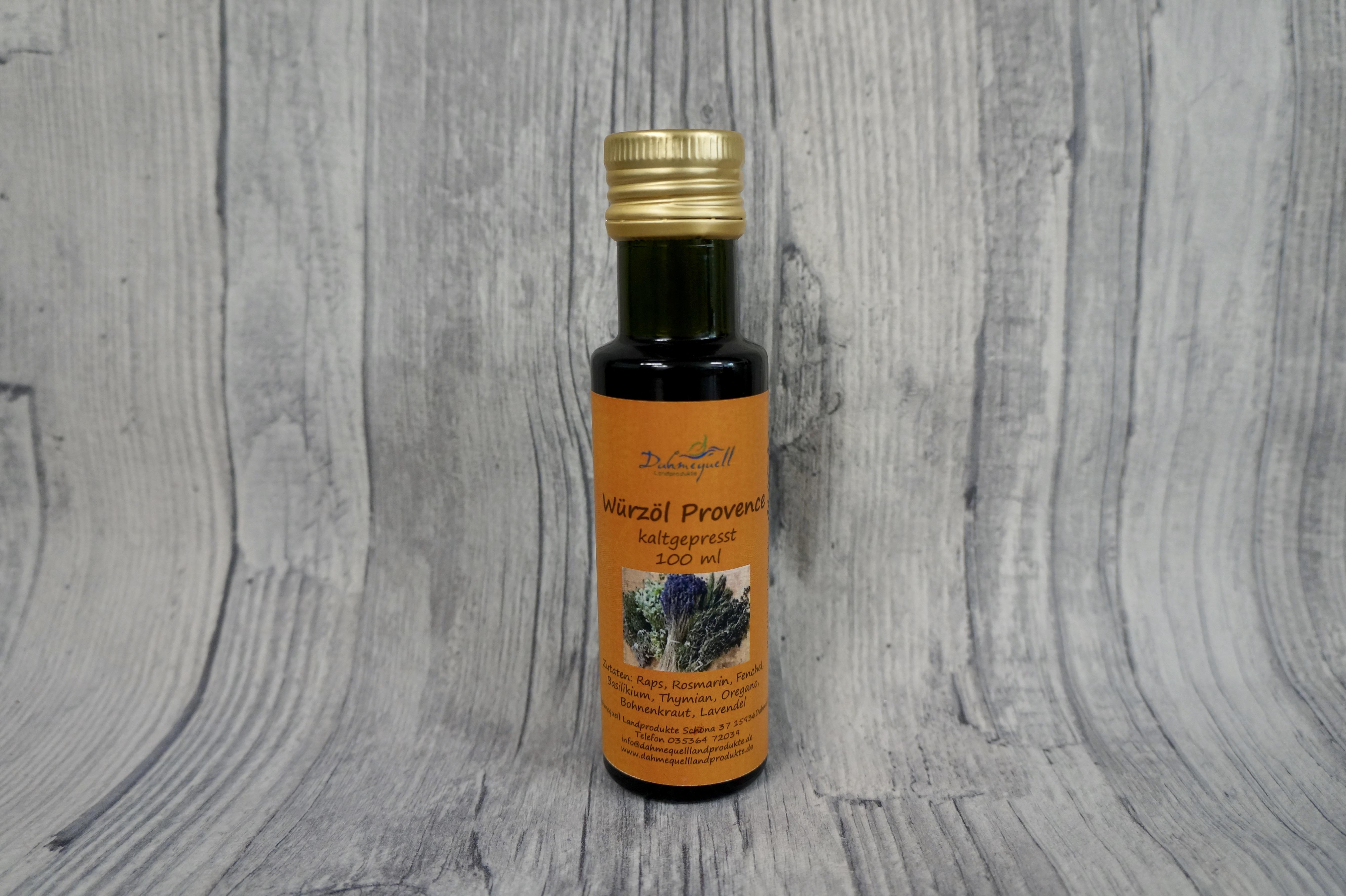 Würzöl Provence 100 ml