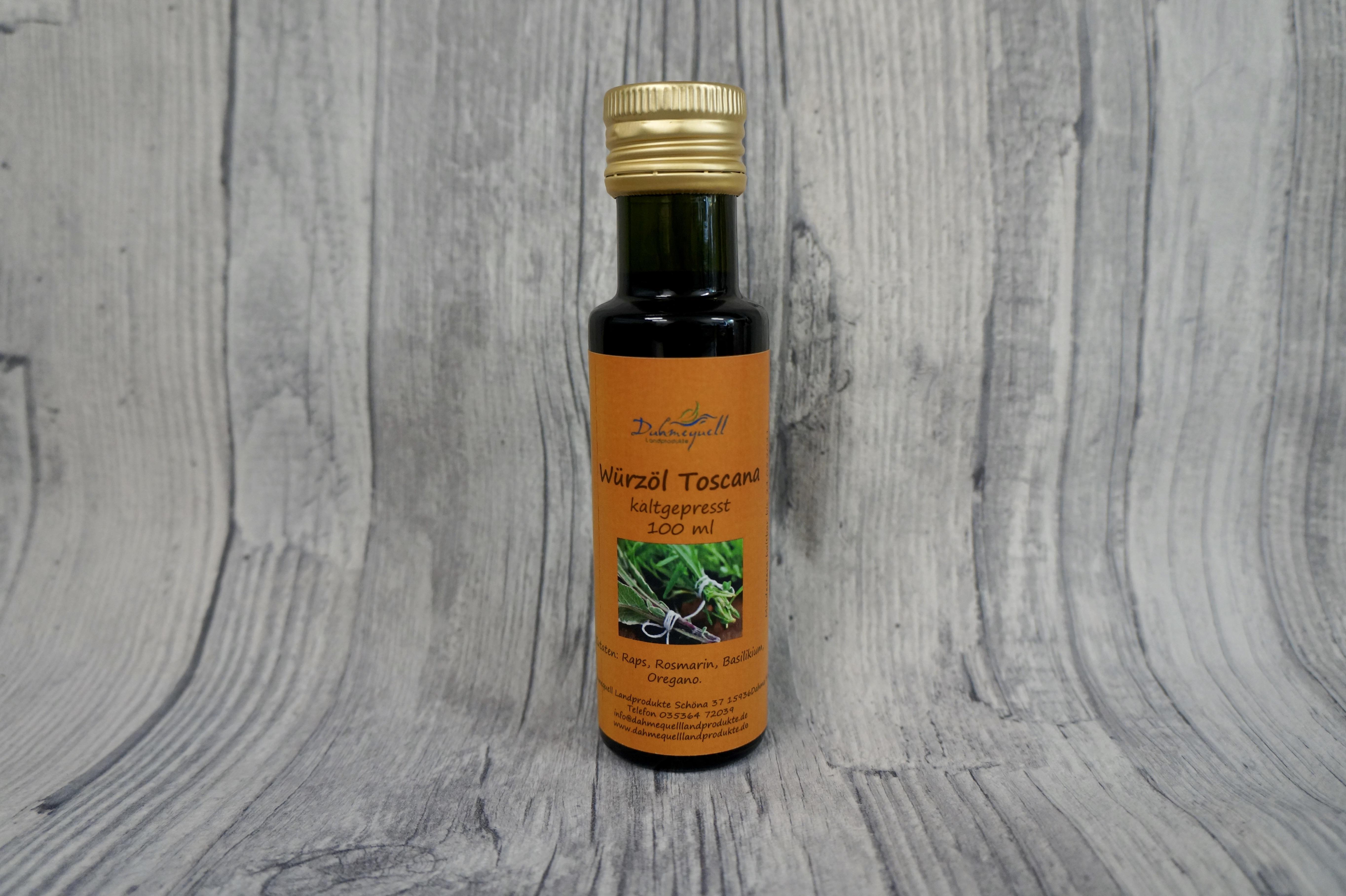 Würzöl Toscana 100 ml